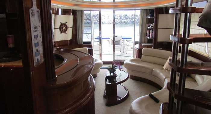 party boat yacht