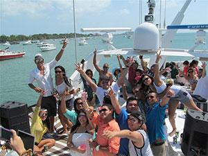 Panama canal yacht tour vip panama for Panama city beach party boat fishing